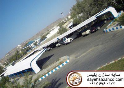 پارکینگهای اداری دانشگاه علوم و فنون دریای چابهار