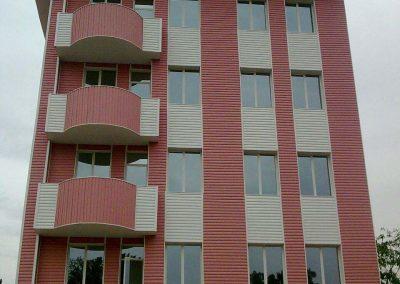 پوشش UPVC ساختمان